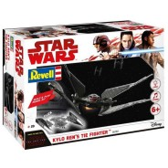 Plastikový model Kylo Ren's TIE Fighter - EasyKit Build & Play - zacvakávací se zvukem - Revell Star Wars 06760
