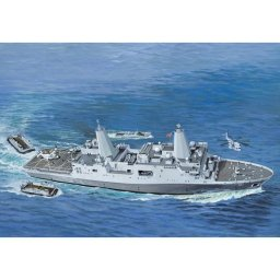 Plastikový model lodě Amphibious Transport Dock U.S.S. New York (LPD-21) (1:350) - Revell 05118