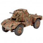 Plastikový model vozidla Armoured Scout Vehicle P 204 (f) (1:35) - Revell 03259