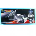 Plastikový model Darth Vader´s TIE Fighter - EasyKit, zacvakávací - Revell Star Wars 06655