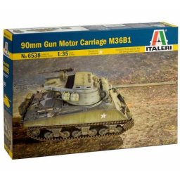 Plastikový model tanku 90mm Gun Motor Carriage M36B1 (1:35) - Italeri 6538