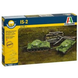 Plastikový model tanku IS-2 (1:72) - Italeri Fast Assembly tanky 7502