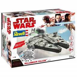 Plastikový model Millennium Falcon - EasyKit Build & Play - zacvakávací se zvukem - Revell Star Wars 06765