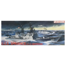 Plastikový model lodě U.S.S. SPRUANCE (V L S DESTROYER) (1:350) - Dragon 1006