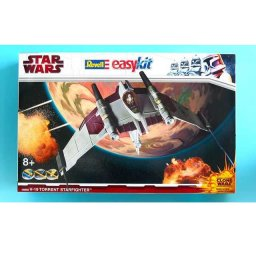 Plastikový model V-19 Torrent Starfighter (Clone Wars ) - EasyKit, zacvakávací - Revell Star Wars 06669