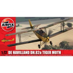 Plastikový model letadla de Havilland Tiger Moth (1:72) - Airfix A01025