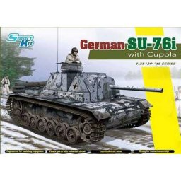 Plastikový model tanku German Su-76i (1:35) - Dragon 6856