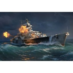 Plastikový model lodě TIRPITZ (1:700) - Italeri World of Warships 46504