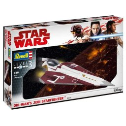 Plastikový model Obi-Wan's Jedi Starfighter (1:80) - Revell Star Wars 03614