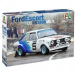 Plastikový model auta FORD ESCORT RS1800 Mk. II (1:24) - Italeri 3655