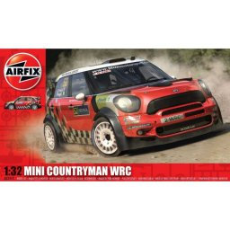 Plastikový model auta Mini Countryman WRC (1:32) - Airfix A03414