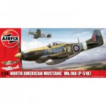 Plastikový model letadla North American Aviation P-51K/RF Mustang (1:24) - Airfix A14003A