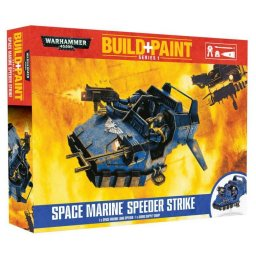 Plastikový model Space Marine Speeder Strike - Revell Build + Paint Warhammer 00081