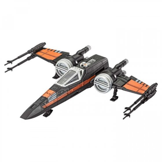 Plastikový model Poe\'s X-wing Fighter - EasyKit Build & Play - zacvakávací se zvukem - Revell Star Wars 06750