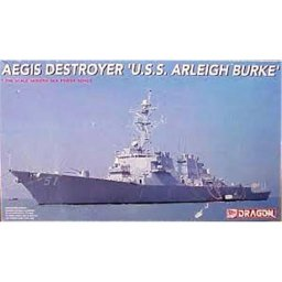 "Plastikový model lodě AEGIS DESTROYES ""U.S.S. ARLEIGH BURKE"" (1:700) - Dragon 7029"