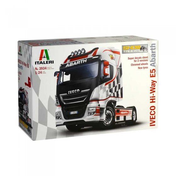 Plastikový model auta IVECO HI-WAY E5 ABARTH (1:24) - Italeri 3934