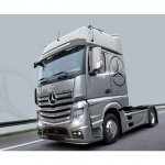 Plastikový model auta Mercedes Benz Actros MP4 Gigaspace (1:24) - Italeri 3905