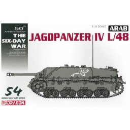 Plastikový model tanku Arab Jagdpanzer IV L/48 - The Six Day War (1:35) - Dragon 3594