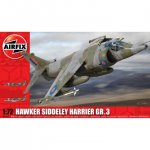 Plastikový model letadla Hawker Siddeley Harrier GR3 (1:72) - Airfix A04055