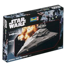 Plastikový model Imperial Star Destroyer (1:12300) - Revell Star Wars SW 03609 -
