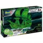 Plastikový model lodě Ghost Ship (incl. night color) (1:150) - EasyClick, zacvakávací - Revell 05435 -