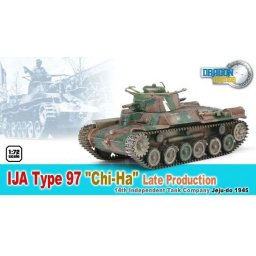 "Plastikový model tanku IJA TYPE 97 ""GHI-HA"" LATE PRODUCTION (1:72) - Dragon 60435"