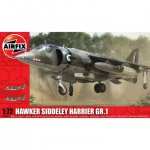 Plastikový model letadla Hawker Siddeley Harrier GR1 (1:72) - Airfix A03003