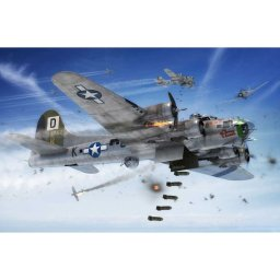 Plastikový model letadla Boeing B-17G FLYING FORTRESS (1:72) - Airfix A08017