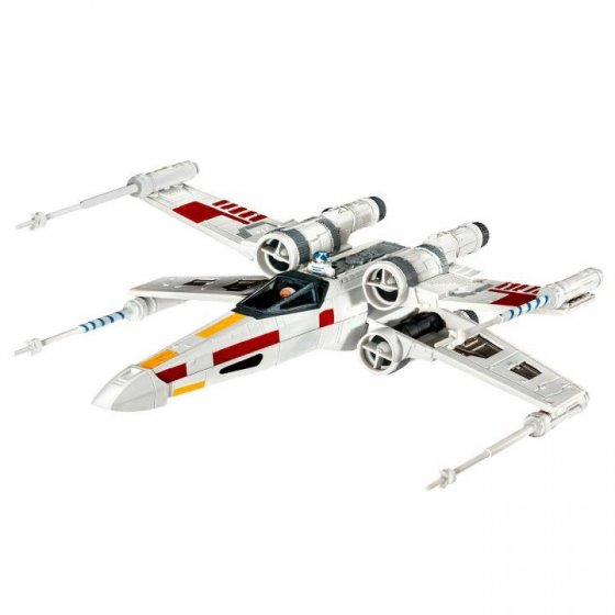 Plastikový model X-wing Fighter (1:112) - Revell Star Wars 03601