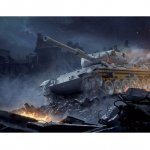 Plastikový model tanku LEOPARD 1 A2 (1:35) - Italeri Model Kit World of Tanks 36507