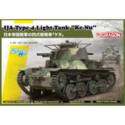 "Plastikový model tanku IJA Type 4 Light Tank ""Ke-Nu"" (Smart Kit) (1:35) - Dragon 6854"