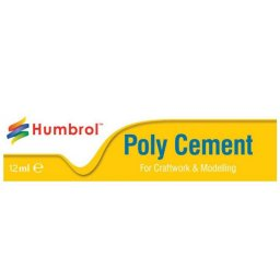 Lepidlo na plastikové modely Humbrol Poly Cement Medium AE4021 - 12ml, tuba