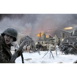Plastikový model diorama BATTLE OF BASTOGNE (1:72) - Italeri 6113