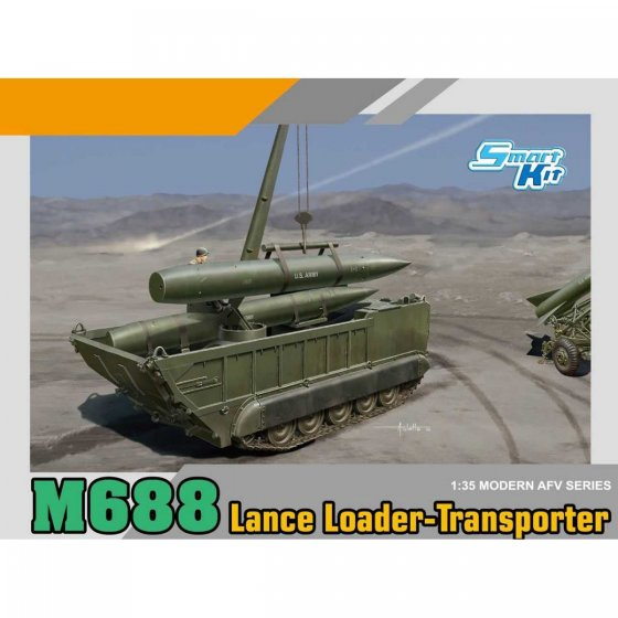 Plastikový model vozidla M688 Lance Loader-Transporter (1:35) - Dragon 3607