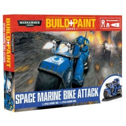 Plastikový model Space Marine Bike Attack - Revell Build + Paint Warhammer 00082