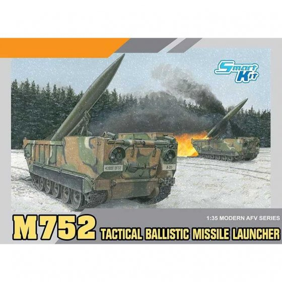 Plastikový model vozidla M752 TACTICAL BALLISTIC MISSILE LAUNCHER (1:35) - Dragon 3576