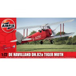 Plastikový model letadla de Havilland Tiger Moth (1:72) - Airfix A01024