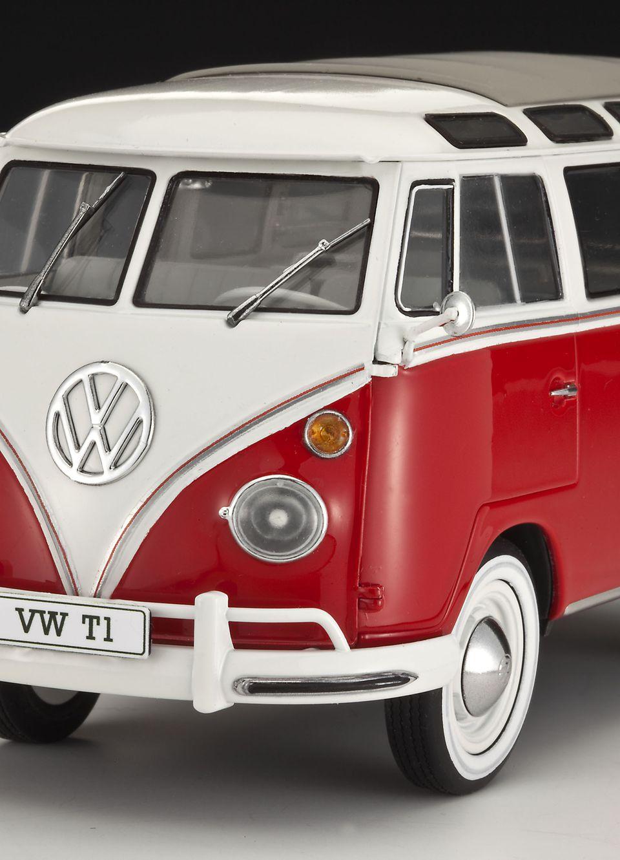 plastikov model auta vw t1 samba bus 1 24 revell 07399. Black Bedroom Furniture Sets. Home Design Ideas